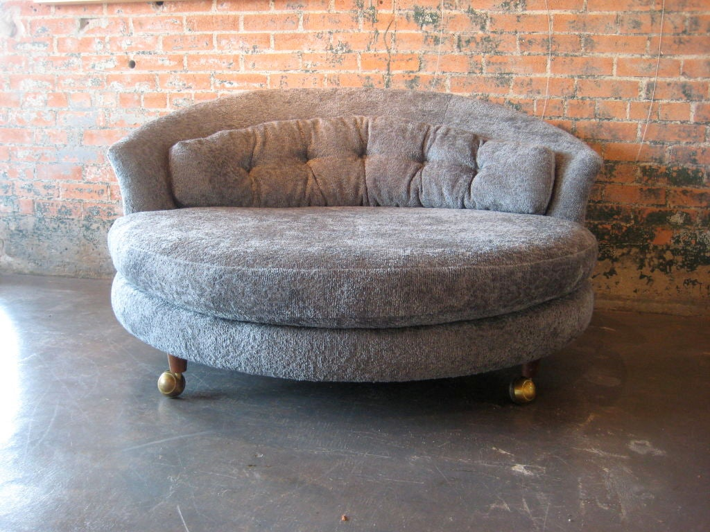 large round lounge chair at 1stdibs