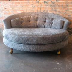 Large Lounge Chair Teen Round At 1stdibs