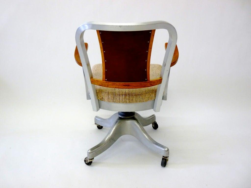 shaw walker chair weekend warrior chairs industrial desk at 1stdibs