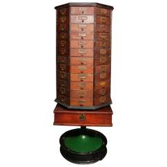 Revolving Chair Repair In Jaipur Plaid Upholstered Chairs General Store Cabinet On Stand Early 20th