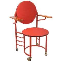 Frank Lloyd Wright Chairs Football Kids Chair Replica 1936 Johnson Wax Office