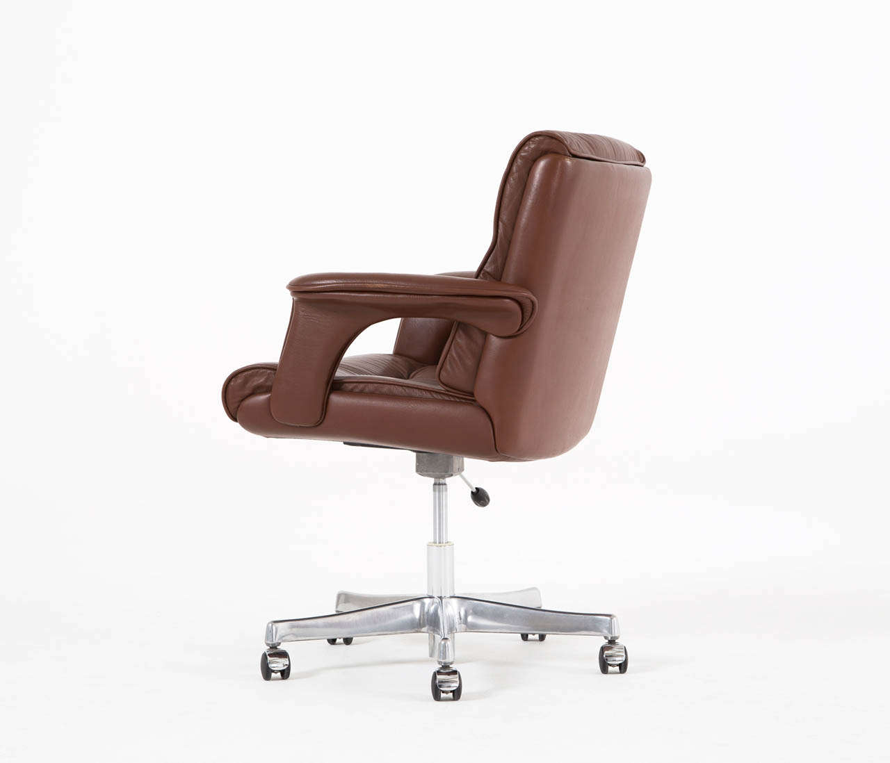 executive brown leather office chairs big lots furniture lift conference desk chair in