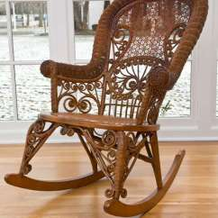 Wicker Rocking Chairs 24 7 Office Antique Victorian Rocker At 1stdibs