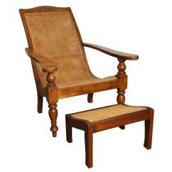 Plantation Style Chairs Posture Chair Price Anglo Indian And Ottoman At 1stdibs