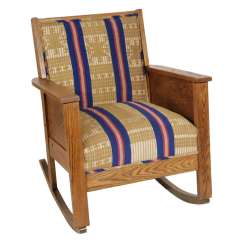 Craftsman Rocking Chair Styles Fisher Price High Chairs Late 19th Century American Mission Style Oak
