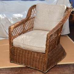 Large Wicker Chair Foldable Beach Scale American 1920 39s Natural Lounge At