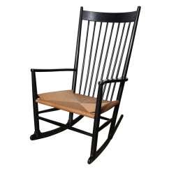 Hans Wegner Rocking Chair Toddler Living Room J16 At 1stdibs