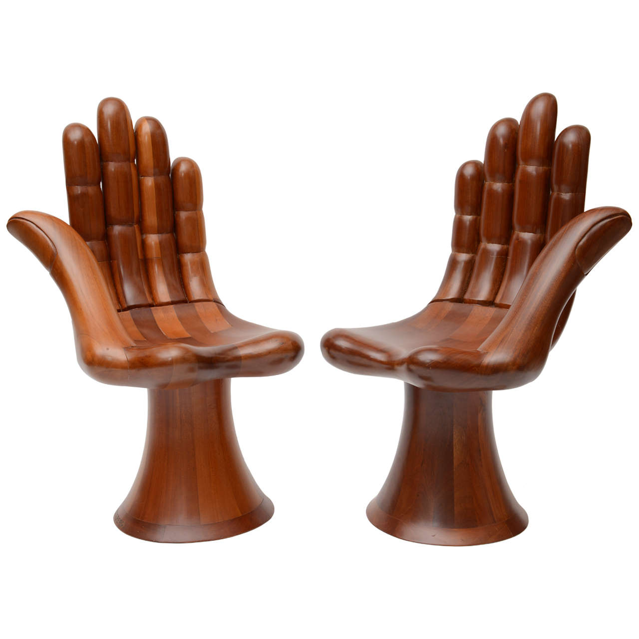 Hand Chairs Pedro Friedeberg Right And Left Hand Chairs At 1stdibs