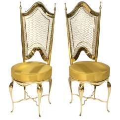 Unique Accent Chairs Adirondack Chair Covers Walmart Extremely Brass At 1stdibs