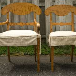 Tiger Print Dining Chairs Fold Away Computer Chair A Set Of 4 Maple Biedermeier At 1stdibs