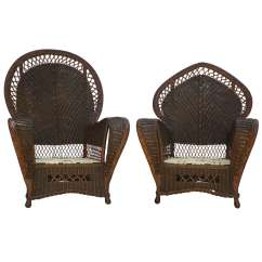 Antique Wicker Chairs Chair Covers By The Bulk And Sofa At 1stdibs