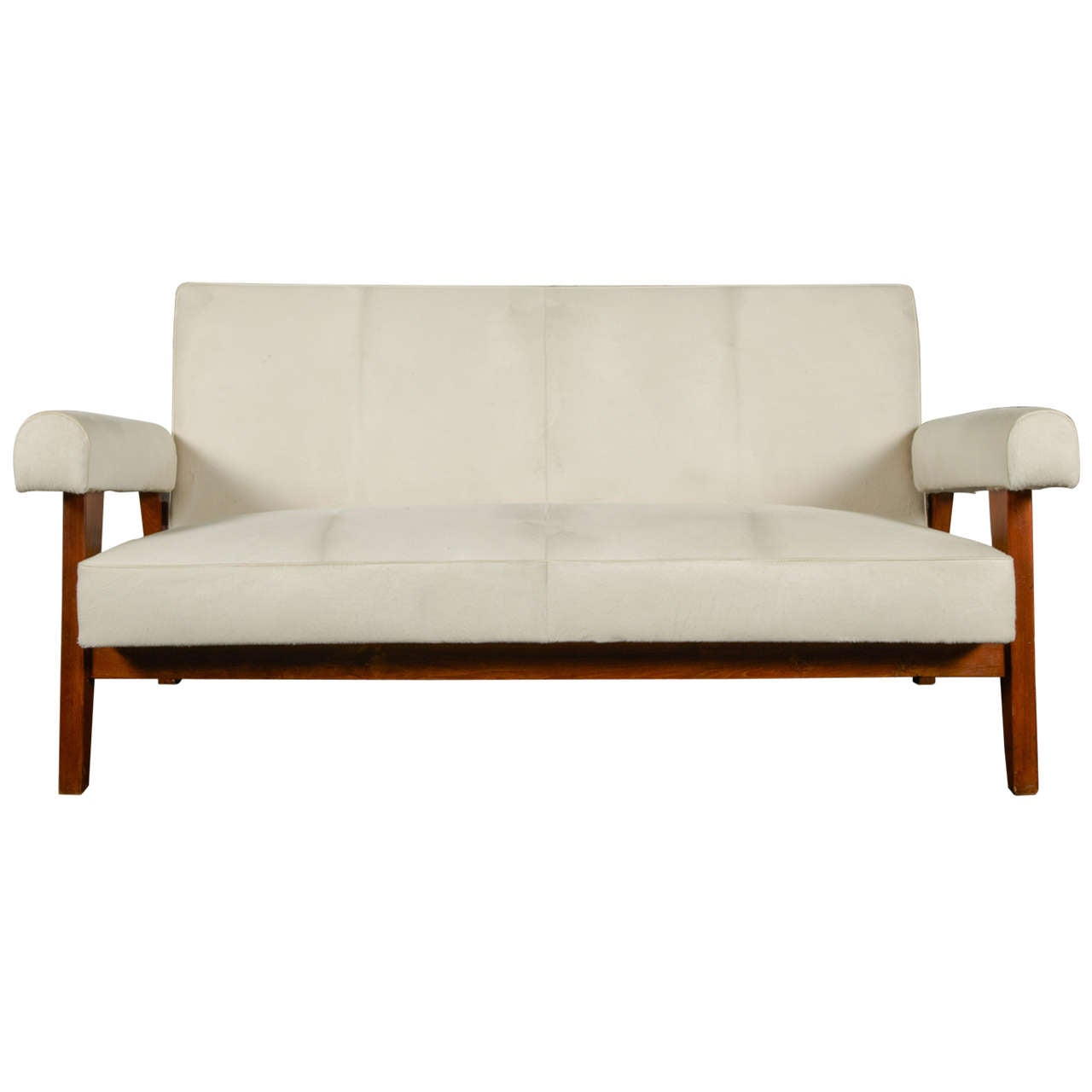 courts sofa moroni havana pierre jeanneret quothigh court down quot ca 1955 at 1stdibs