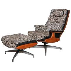 Heywood Wakefield Chairs Carters High Chair 2 Lounge And Ottoman At 1stdibs