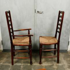 Antique Ladder Back Chairs Value Kelsyus Beach Canopy Chair Set Of Ten Dining At 1stdibs