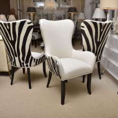 Zebra Dining Chairs Knoll Barcelona Chair Set Of Eight Stenciled Cowhide At 1stdibs