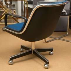 Pollock Executive Chair Replica Aluminum Lawn Charles 39s 1963 At 1stdibs