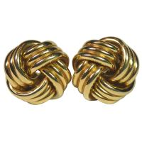 TIFFANY and CO. Knot Earrings at 1stdibs
