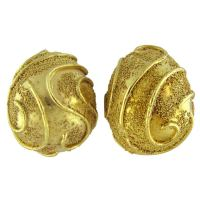 ELIZABETH GAGE Gold Earrings at 1stdibs