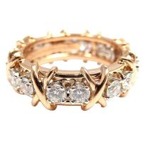 Rose Gold Rings: Rose Gold Rings Tiffany