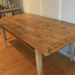 Pine Kitchen Chairs Ireland Chair Design Pinterest 19th Century Irish Scrubbed Dining Table At 1stdibs
