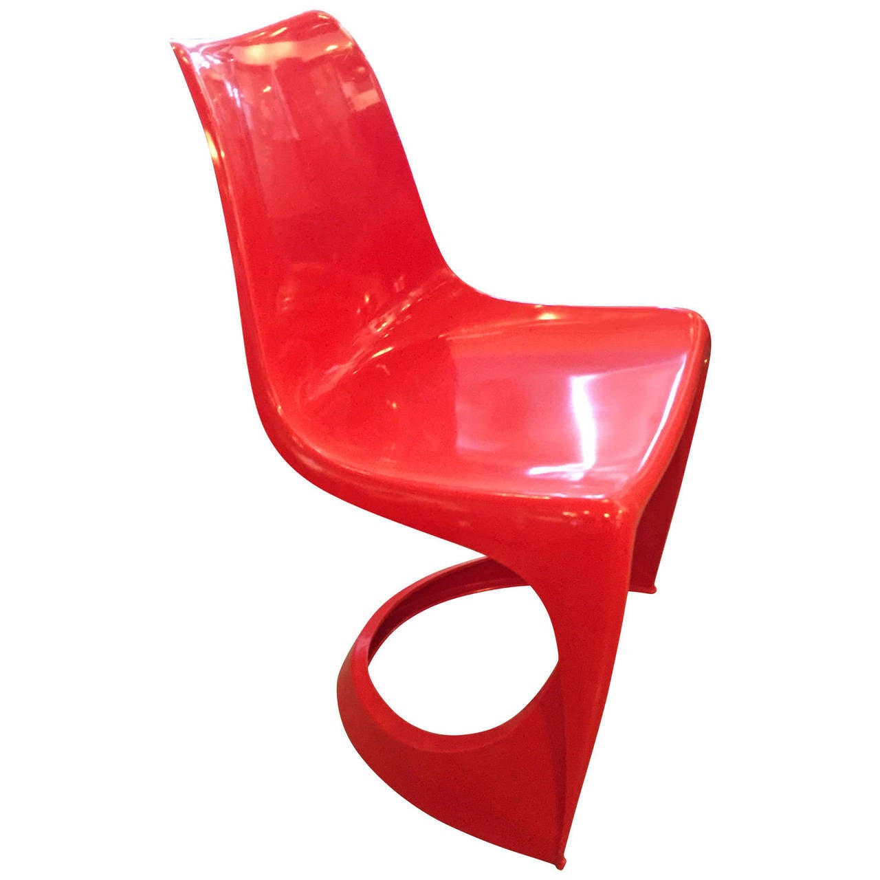 plastic molded chairs fox fishing chair spares pair of vintage at 1stdibs