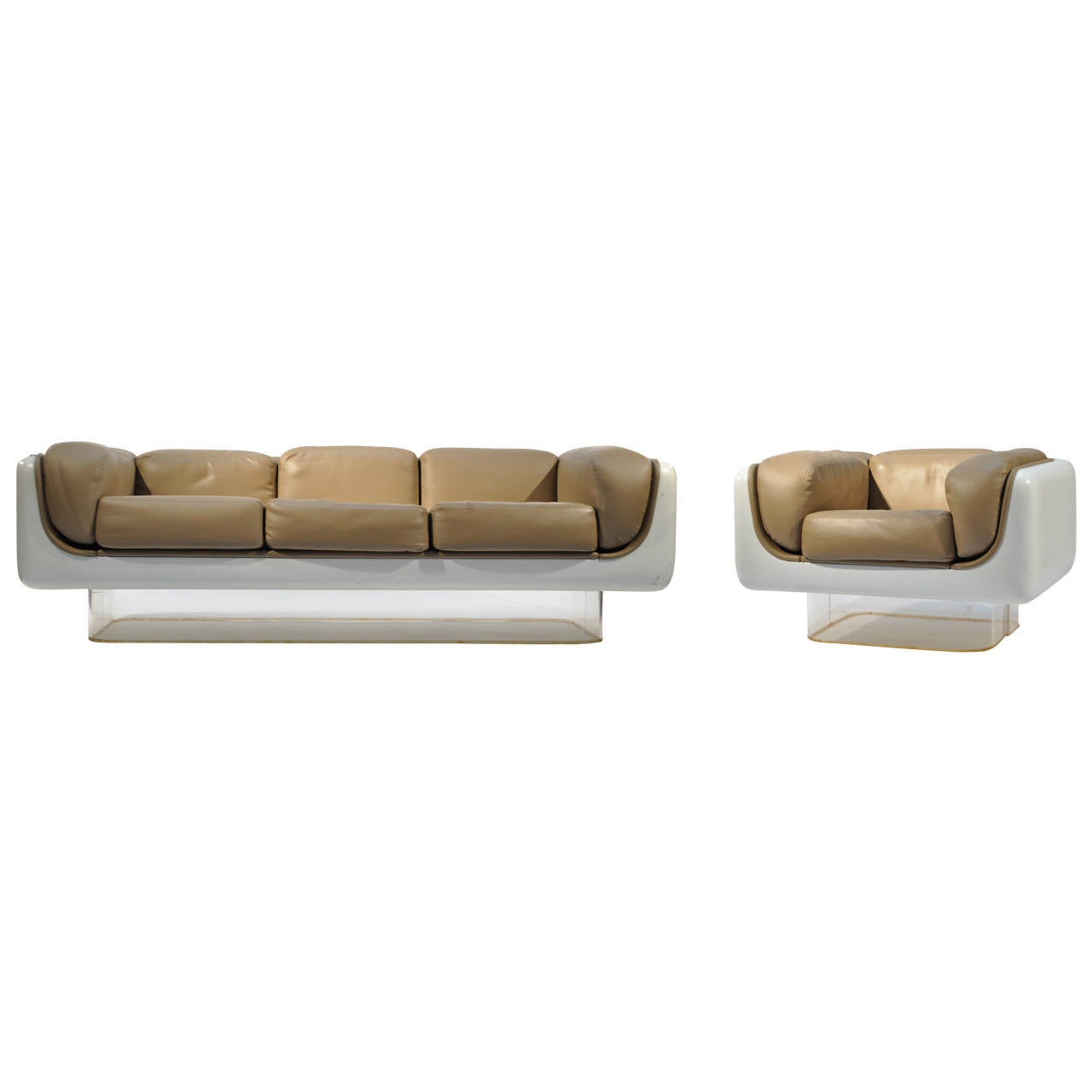 steelcase sofa platner custom upholstered sofas online pair of warren quotsoft seating quot and lounge at