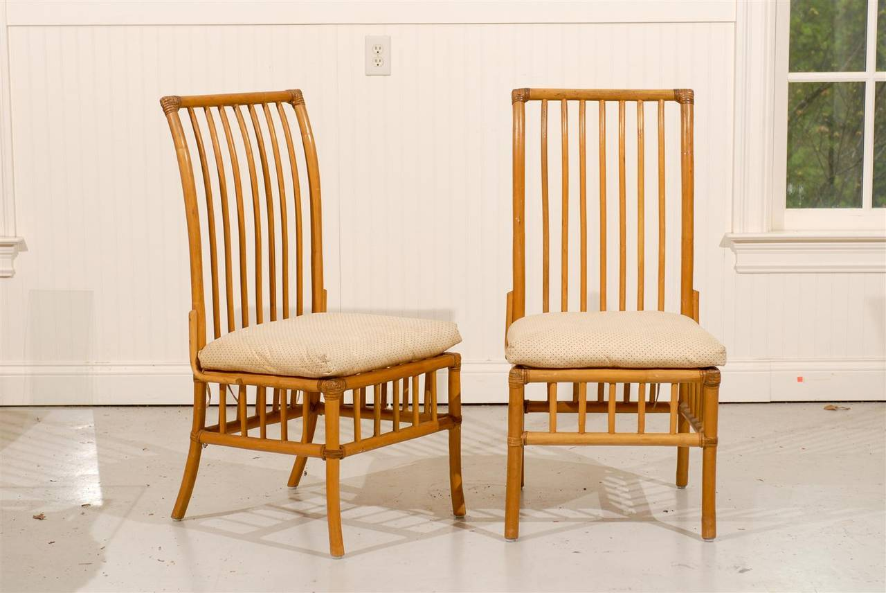 antique high back wicker chairs kids bistro table and lovely set of six vintage rattan dining