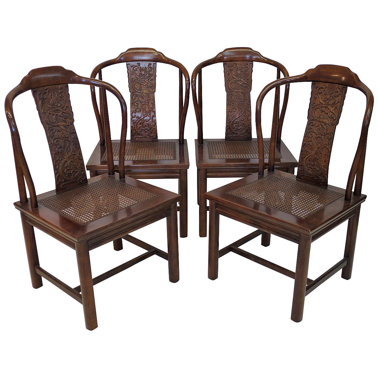 henredon asian dining chairs white lounge chair for bedroom set of four inspired by furniture at