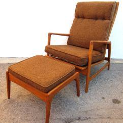Modern Lounge Chair And Ottoman Set Racer Gaming Uk 1950 Danish Mid Century