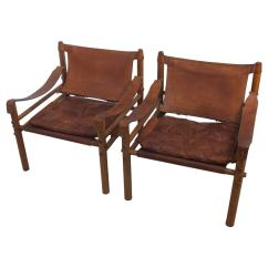 Leather Safari Chair Rocking Footrest Arne Norell Rosewood And Quotsirocco Quot Chairs