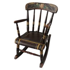 Antique Rocking Chairs Value Adjustable Height High Chair 19th Century York County Pennsylvania Original Painted