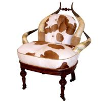 American Victorian Horn Chair at 1stdibs