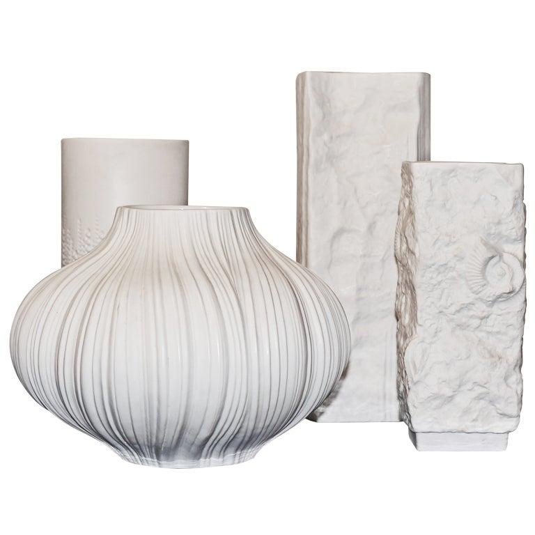 White German Porcelain Vase