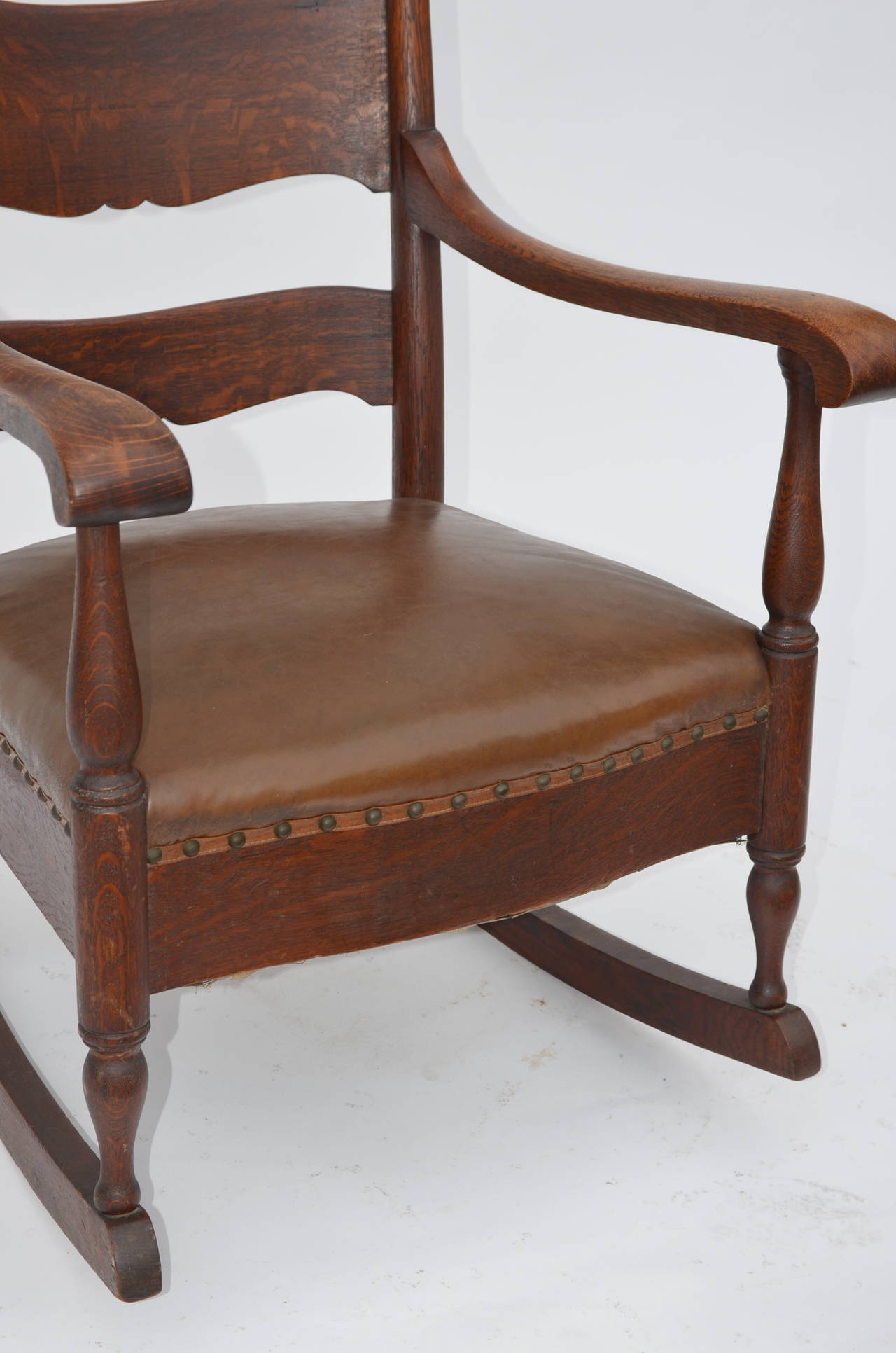 comfortable rocking chair kid table and arts crafts carved oak at