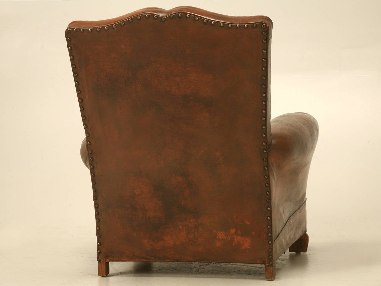 art deco club chairs leather mid century modern accent chair french circa 1930s image 10