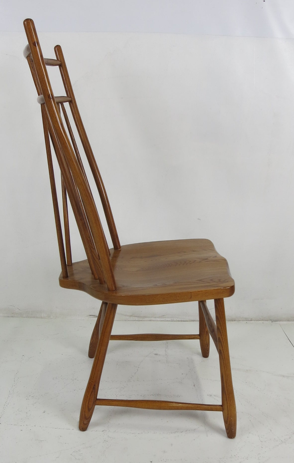 windsor style chairs high back executive office chair set of six dining at 1stdibs