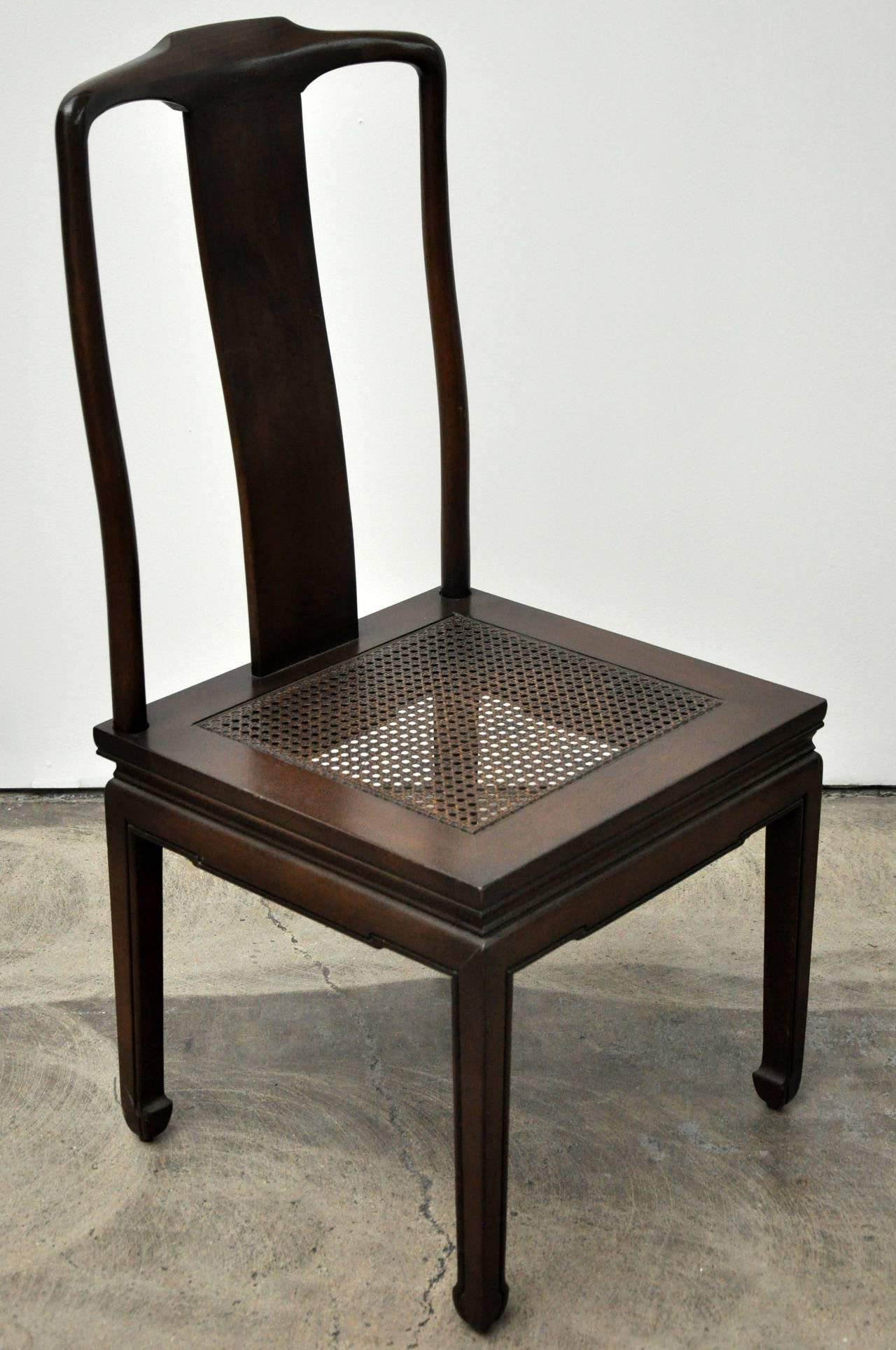 henredon asian dining chairs very task chair design your own set of six at 1stdibs