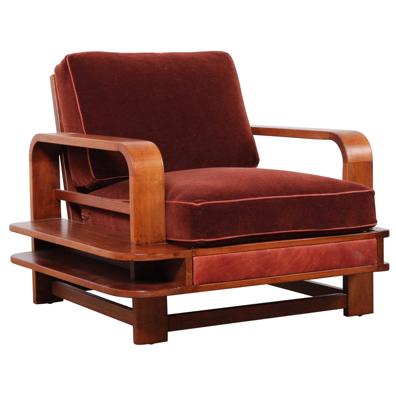 conant ball chair poang instructions rare lounge designed by russel wright for