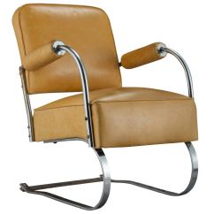 Leather And Chrome Chairs Best Kneeling Chair Canada Yellow Cantilever