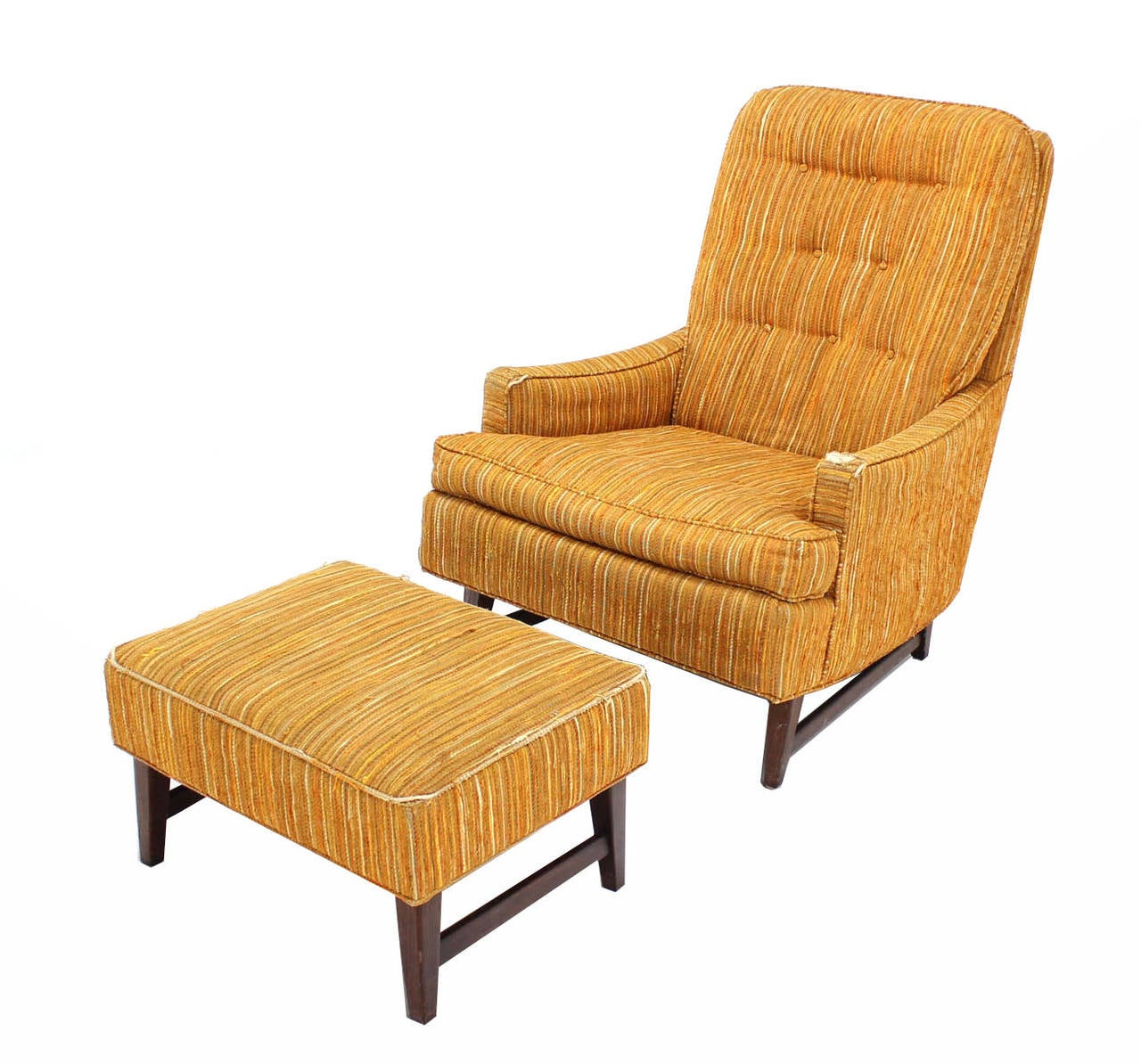 Selig Lounge Chair Selig Lounge Chair And Matching Ottoman With Upholstery At