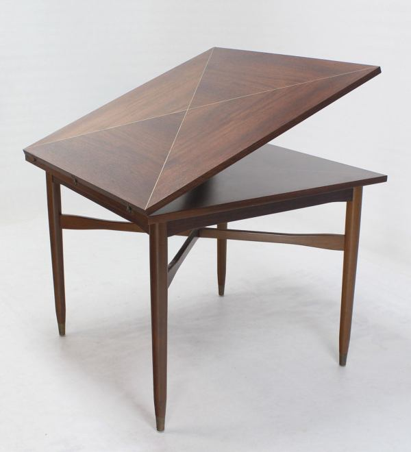 Mid Century Modern Game Table And Chairs Imgurl