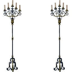 Pair of Beautiful Early 19th Century French Candelabras at