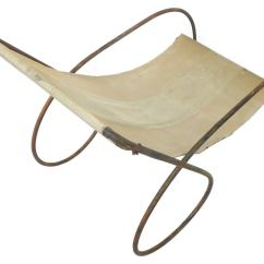 Canvas Sling Chair Building A Morris Pair Of Unusual Tubular Steel And Lounge