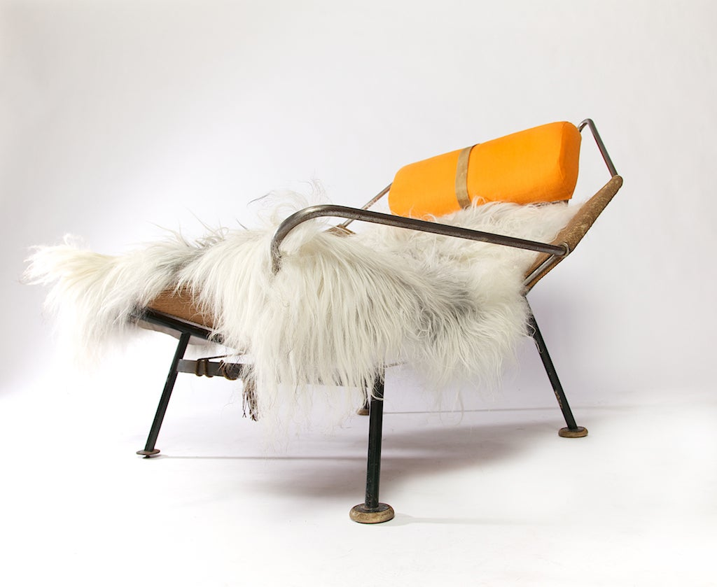 american flag chair walmart plastic adirondack chairs halyard by hans wegner circa 1952 at 1stdibs
