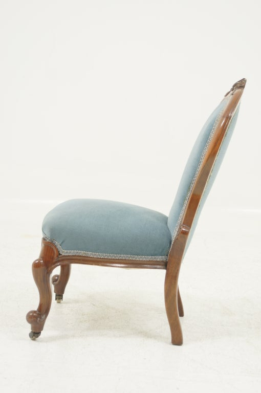 Victorian Mahogany Childs Parlour Chair at 1stdibs