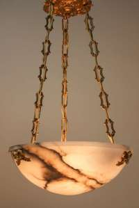 Spanish Alabaster Chandelier image 3