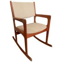 Vintage Mid-Century Modern Rocking Chair By Benny Linden ...