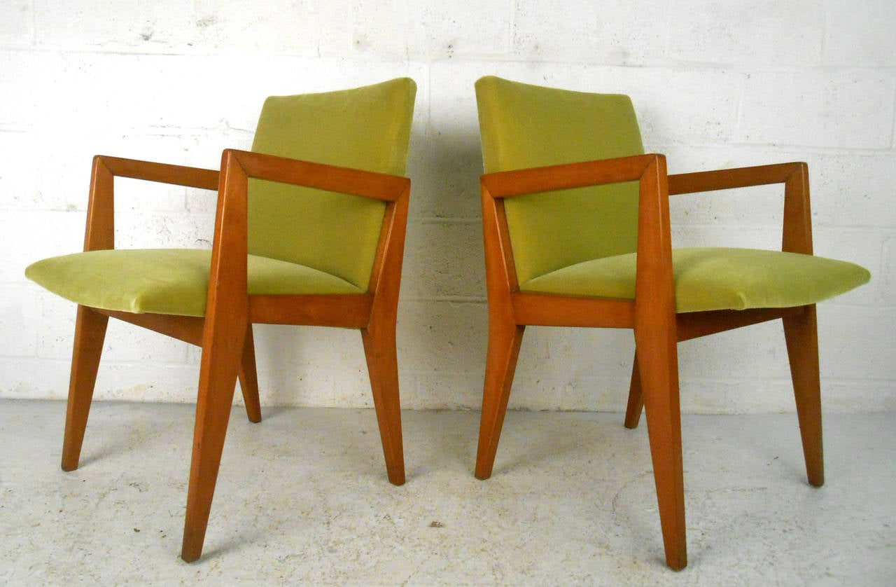 frank lloyd wright chairs marble dining table 8 set of mid century modern inspired