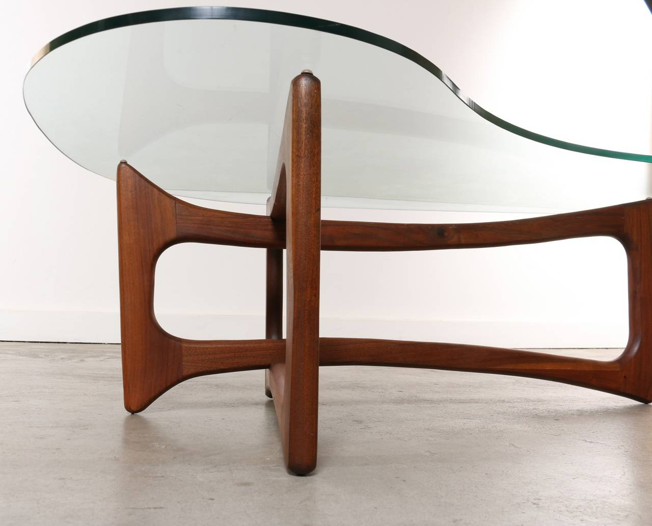 adrian pearsall chair designs garelick fishing amoeba coffee table by for craft associates, 1960's at 1stdibs