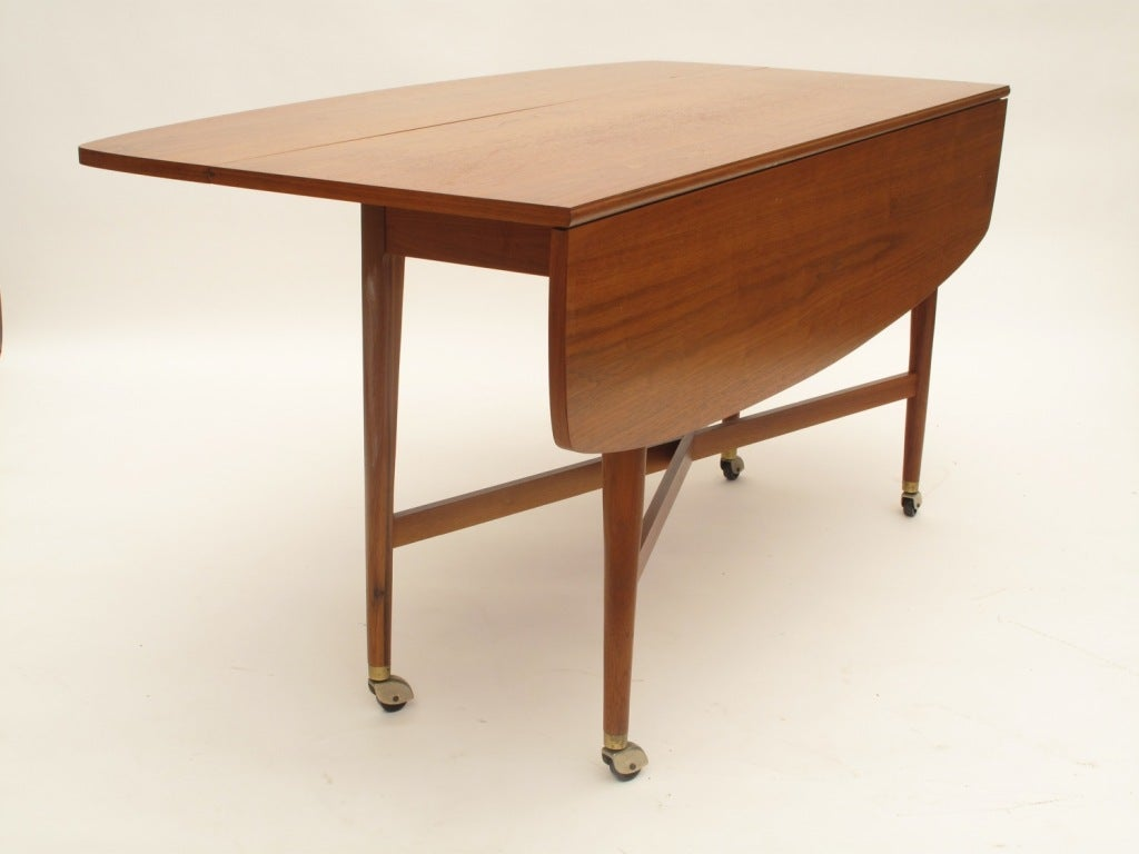drexel sofa table stuffing drop leaf dining at 1stdibs